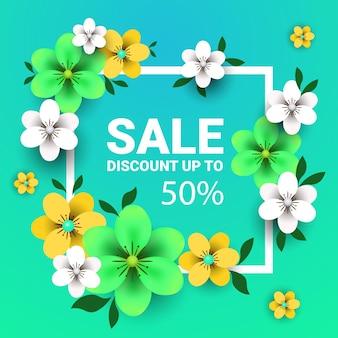 Женский день 8 марта праздник празднование концепция распродажа баннер поздравительная открытка плакат или флаер с цветами иллюстрации
