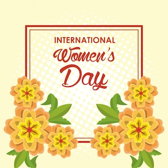 Womens day card