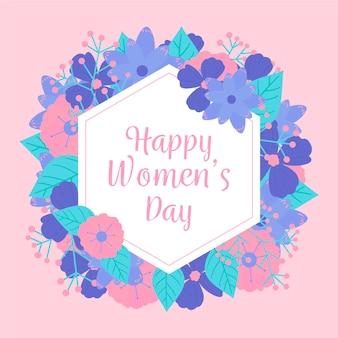 꽃 컨셉으로 여성의 날 행사