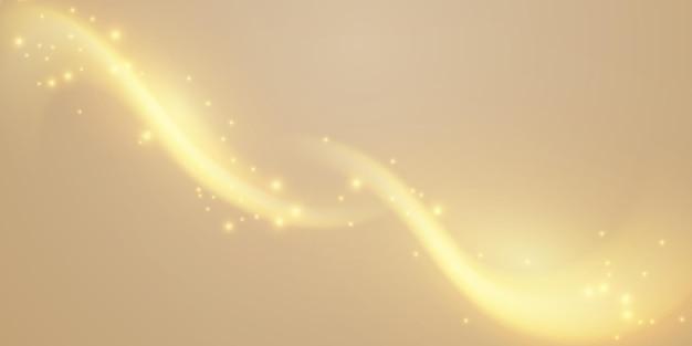 Замечательный золотой блеск на абстрактном золотом фоне