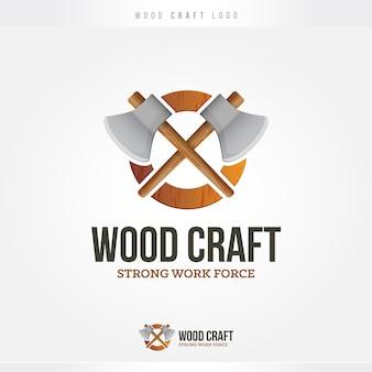 Логотип wood and axes