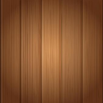 木の板の壁のベクトル図