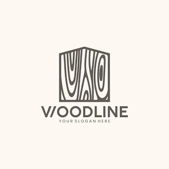 Wood home logo design inspiration