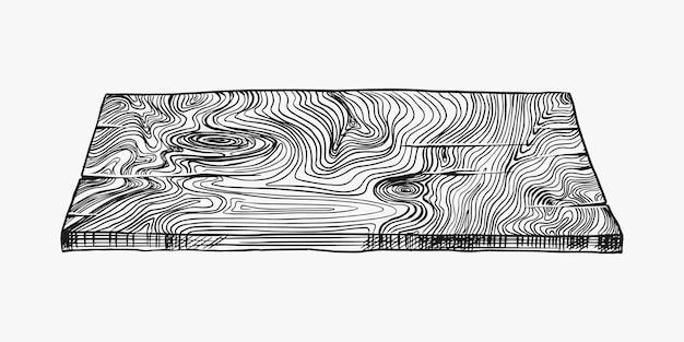 Дерево или кусок дерева. доска и бревно, пиломатериалы и распил, дрова в винтажном стиле. иллюзия для