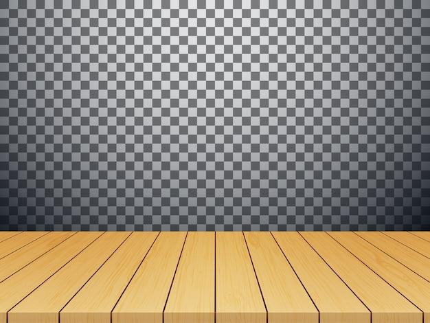 分離された木製のテーブルトップ