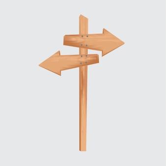Freccia di legno