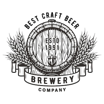 Деревянная бочка для пива, виски, бар
