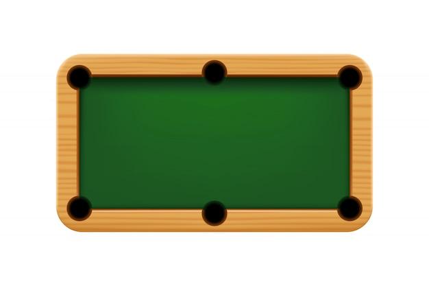 Деревянный бильярдный стол 01