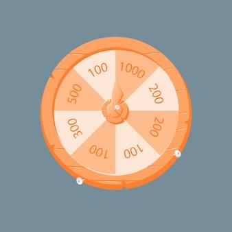 Деревянное ежедневное колесо