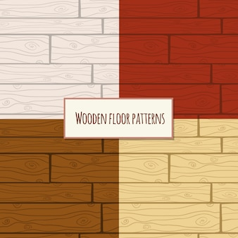 Wooden floor seamless pattern