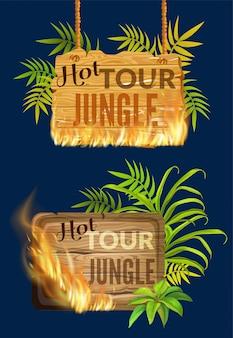 불꽃 화상 판매의 나무 패널.