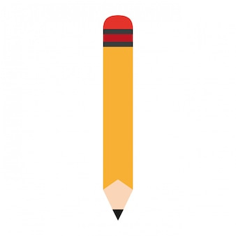 Wooden pencil cartoon