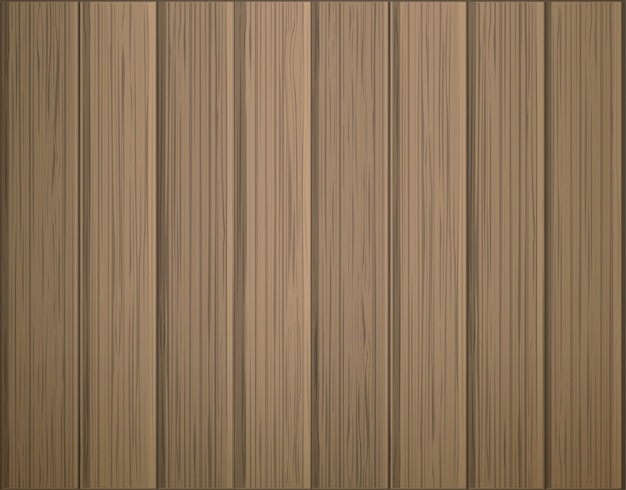 Wooden plank textured background vector illustration