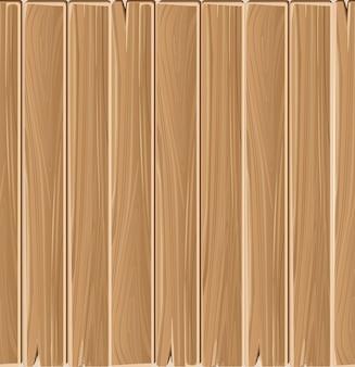 Wooden planks board vector seamless pattern