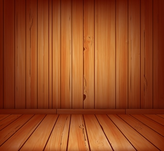 Wooden planks interior background