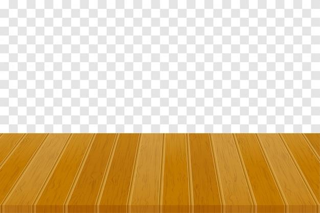Wooden table illustration