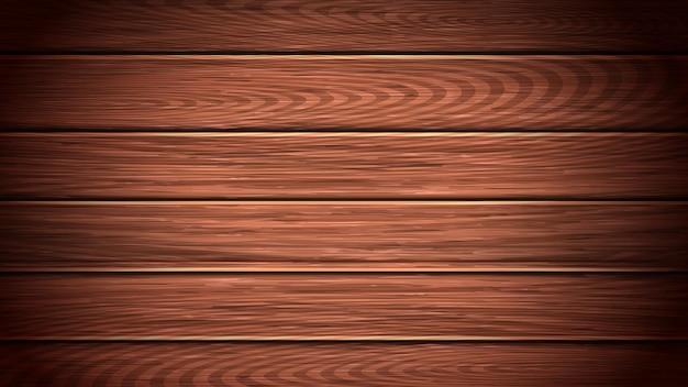 Деревянный стол или пол фон копией пространства вектор