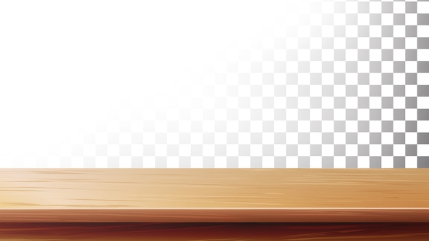 Wooden table top. empty stand for display your product