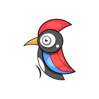Woodpecker, bird animal