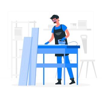木工の概念図