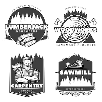 Woodworks lumberjack 문양