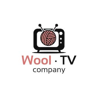 ウールテレビチャンネルのロゴデザイン