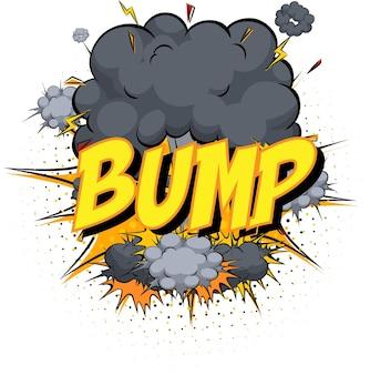 Word bump sul fumetto cloud