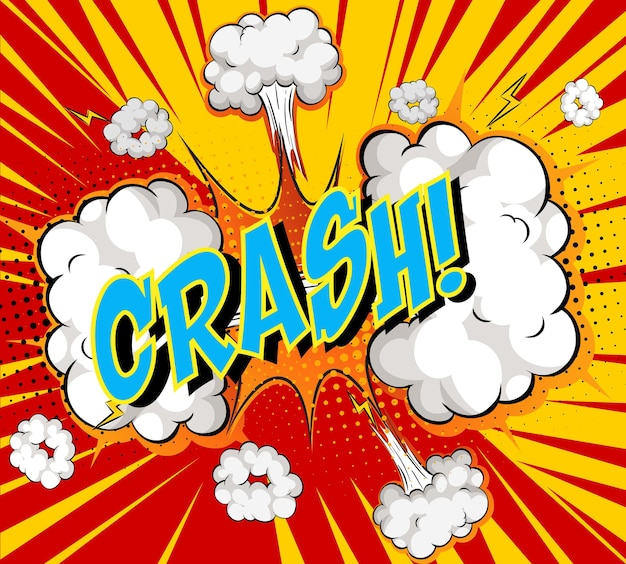 Word crash sul fumetto cloud