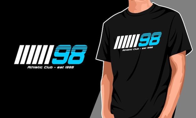 一生懸命夢の大きなtシャツのデザイン