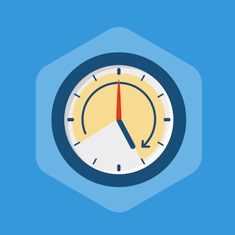 Work hours illustration