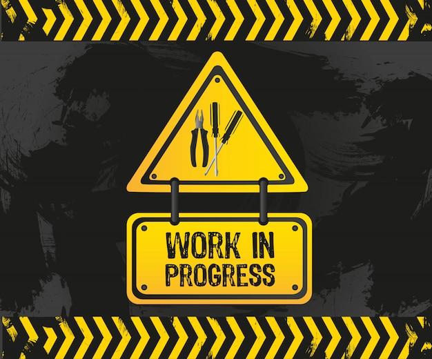 Work in progress grunge