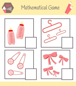 Рабочая тетрадь по математике для дошкольного образования. пазлы для детей. научитесь считать. решите примеры.