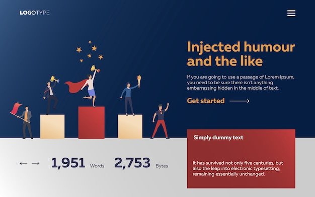 Workers winning awards landing page