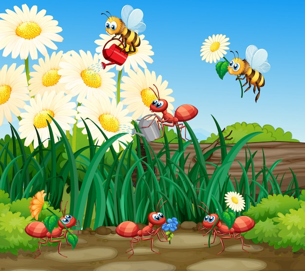 Рабочий муравей садоводство завод