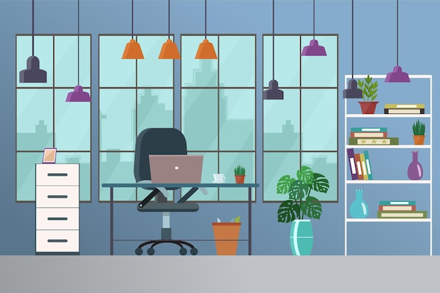 Рабочее место, творческий офис