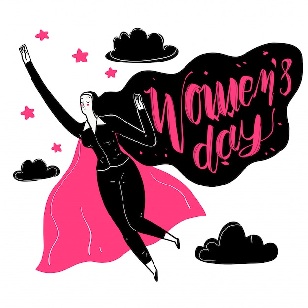 Работающие женщины имеют сильные лидерские качества.