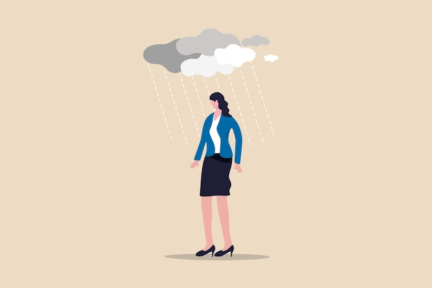 Workload and stress causing depression in office worker mental illness