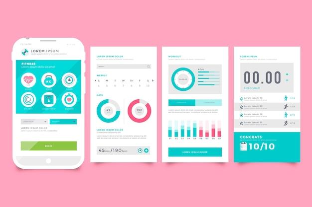 App tracker di allenamento