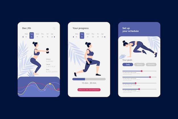App tracker allenamento