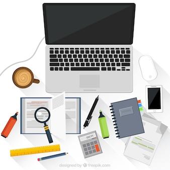 노트북과 직장
