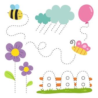 Дизайн рабочего листа для малыша