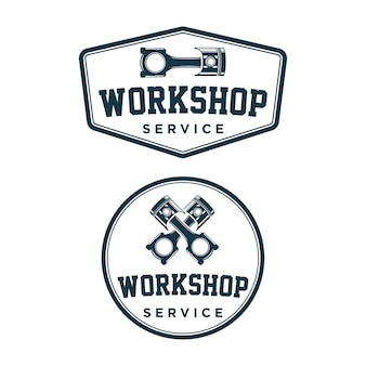 Workshop logo vintage