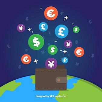 Worl валютные иконки