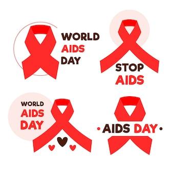 세계 에이즈의 날 배지 컬렉션