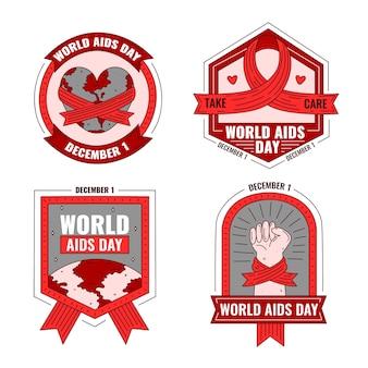 世界エイズデーバッジのコンセプト
