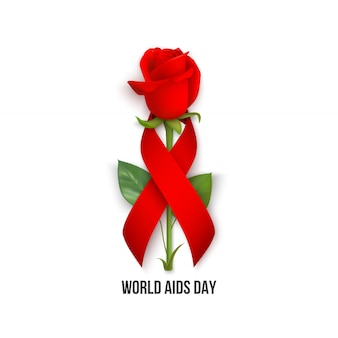 World aids day card