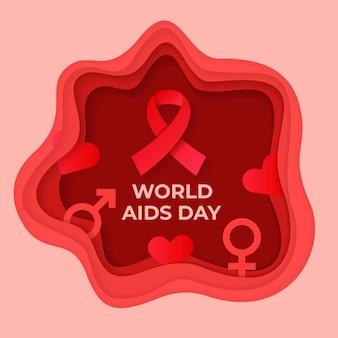 종이 스타일의 세계 에이즈의 날