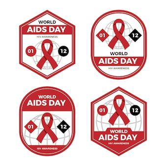 세계 에이즈의 날 라벨 컬렉션