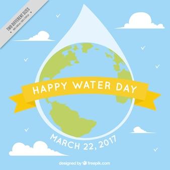 水の日のための世界の背景