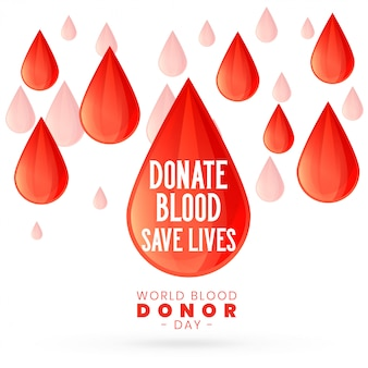For world blood donor day